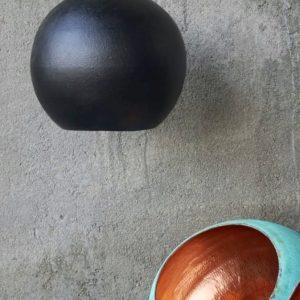 Original Sort Oxideret Balilamper